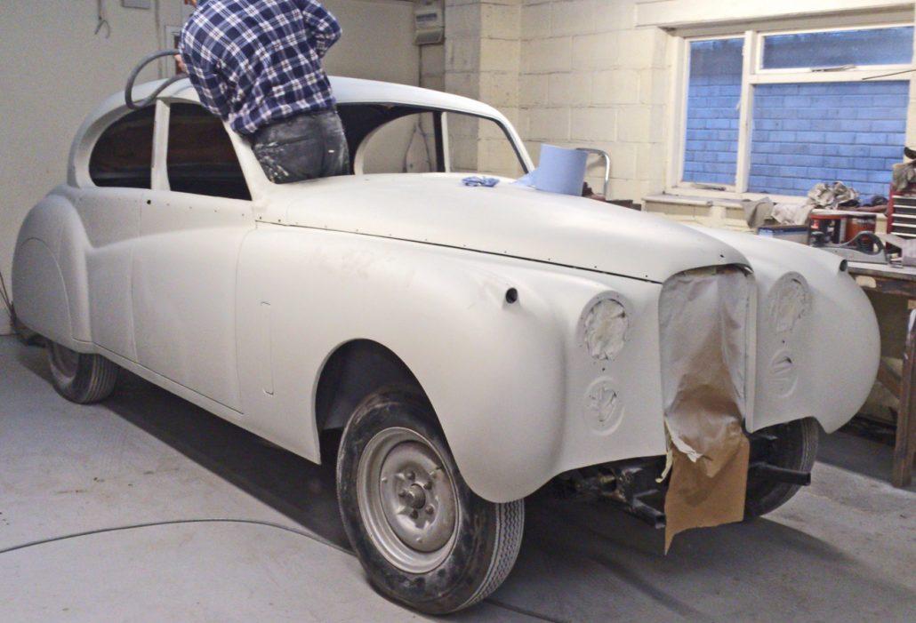 Autobody Repair Shaftesbury - Jaguar MK7 01
