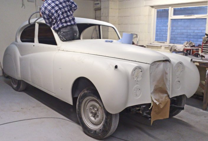 Autobody Repair Shaftesbury - Jaguar MK7 01