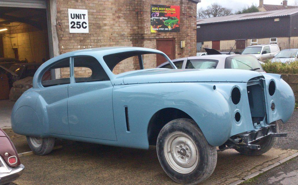 Autobody Repair Shaftesbury - Jaguar MK7 02