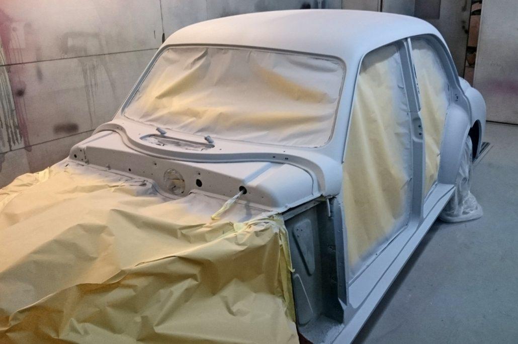 Autobody Repair Shaftesbury - MG Magnette 01