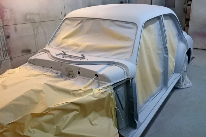 Autobody Repair Shaftesbury - MG Magnette 01
