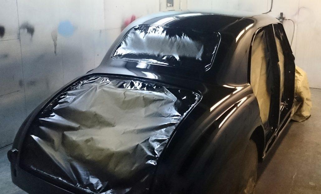 Autobody Repair Shaftesbury - MG Magnette 02