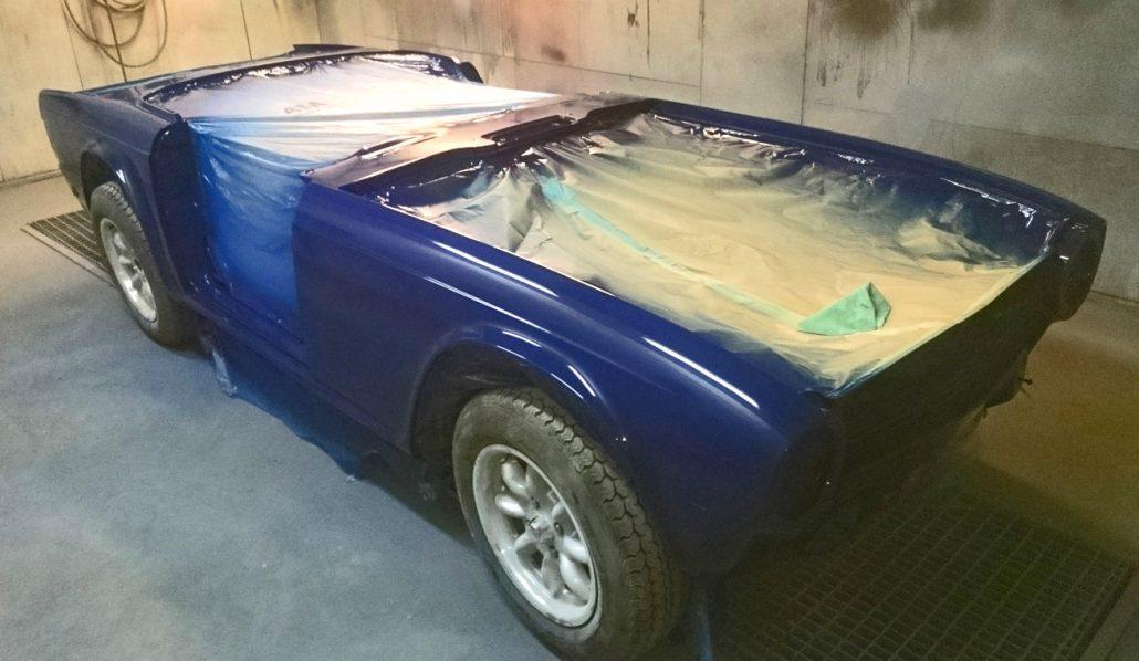 Autobody Repair Shaftesbury - Triumph TR6