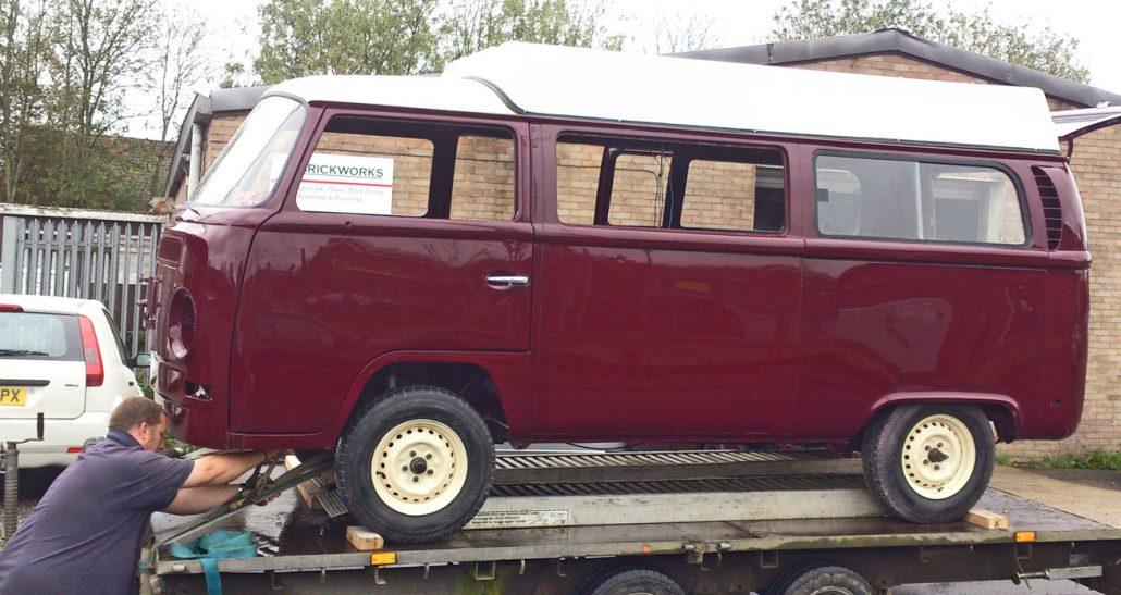 Autobody Repair Shaftesbury - VW Camper 1