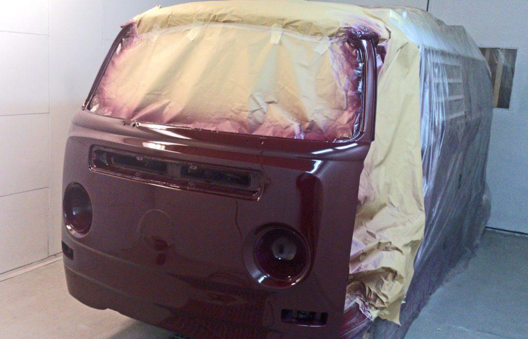 Autobody Repair Shaftesbury - VW Camper 2