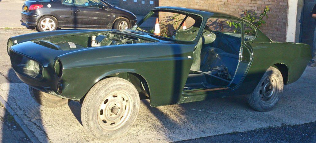 Autobody Repair Shaftesbury - Volvo P1800